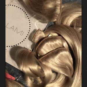 "Bellami premium remy real hair extensions 22"" 220g"